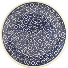 """Polish Pottery Dessert Plate by Zaklady Ceramiczne """"Boleslawiec"""". $13.50. Each piece of Polish Stoneware is handmade and hand-painted.. Use: Polish Pottery is oven- dishwasher- stove- and microwave oven safe, lead and cadmium free, resistant to chip.. Dimensions: Diameter: 7.7"""" Height: 0.95"""". Origin: Boleslawiec, Poland. The Polish Pottery Dessert Plate, in the Unikat Signature Patterns, will be an excellent addition to your dinner table. Because of the high-quality clay u..."""