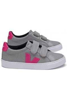 Zapatillas deportivas niña - Zapatillas Velcro Esplar Rosa