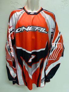 New O'NEAL Hardwear Motocross Jersey Men's XL Red Off Road Dirt Bike