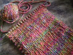 Inspiration - Cable spun rainbow