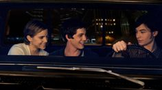 The Perks of Being a Wallflower - Emma Watson, Logan Lerman, Ezra Miller