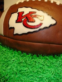 Kc Chiefs Football Cake