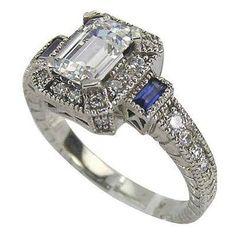 VINTAGE RINGS   Antique Style Diamond Ring Photos [Slideshow]