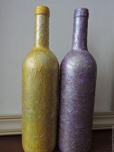 Купить Яркий акрил 2 - желтый, фиолетовый, розовый, зеленый, серебряный, золотой, перламутровый, Декупаж