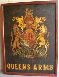 British pub signs.