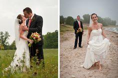 Door County, Wisconsin Fall wedding. Flowers by Sturgeon Bay Florist. Photography by Matt Normann Photo.