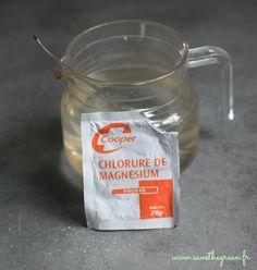 Connaissez-vous les bienfaits du chlorure de magnésium ? C'est un remède naturel & très économique pour soigner vos rhumes, problémes de peau, la fatigue...: