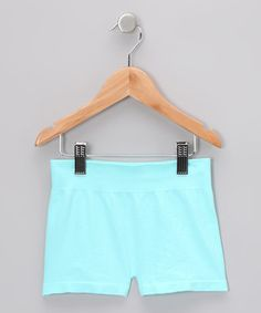 Love this Aqua Shorts by Malibu Sugar on #zulily! #zulilyfinds