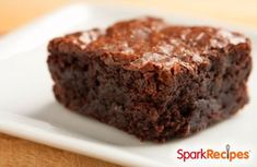 Single-serving #brownie?? Yes, please! One of our favorite go-to snacks when we want something sweet (but don't want to make a whole pan of sweets!)   via @SparkPeople #dessert #snack
