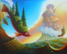 El pescador - Jeff Mihalyo