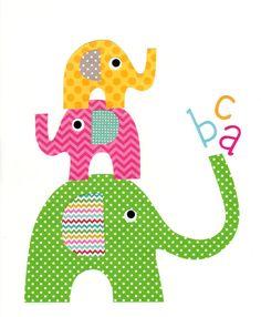 Nursery Artwork Print // Baby Room Decoration // Kids Room Decoration // Gifts Under 50 on Etsy, $14.00