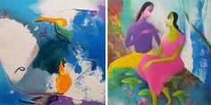"6th - 18th Jan.'14: Gallery Pradarshak presents ""The Girams"" - Arti & Eknath Giram"