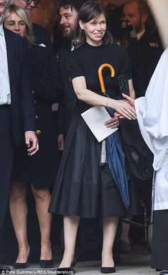 Lady Sarah Chatto, the Queen's niece, attends the funeral of Countess Mountbatten of Burma at St.Paul's church on 27 June 2017 in Knightsbridge, London Princess Eugenie, Royal Princess, Princess Diana, Lady Sarah Armstrong Jones, Lady Sarah Chatto, Reine Victoria, Margaret Rose, Kate And Meghan, Elisabeth Ii