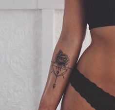 Ink Tattoo: Forearm Flower Tattoos for Girls