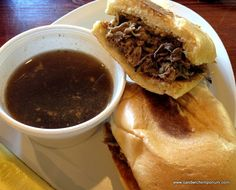 French Dip....Dad's recipe roast beef