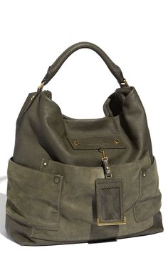 MARC BY MARC JACOBS 'Preppy Faridah' Shoulder Bag wish they still had this bag. Would like something in the same style and color Beautiful Handbags, Beautiful Bags, Tote Handbags, Purses And Handbags, Clutch Bags, Handbags Online, Handbag Accessories, Fashion Accessories, How To Have Style