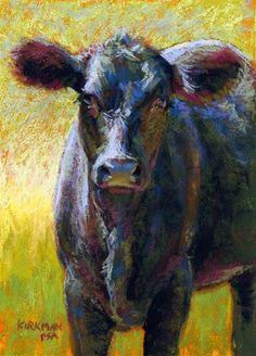 "Daily Paintworks - ""Nori - day 19"" - Original Fine Art for Sale - © Rita Kirkman"