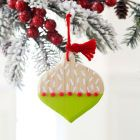 Whimsy Painted Wood OrnamentsWhimsy Painted Wood Ornaments