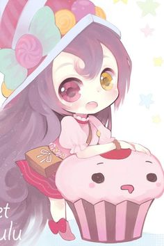 I guess this is lulu its cute :3