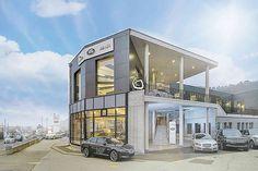 Garage Gardel - edilizia leggera in acciaio - Sistema Knauf cocoon