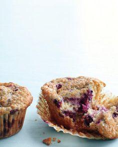 Blackberry-Oat Bran Muffins Recipe