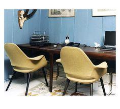 eames & saarinen organic chair