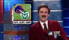 Idaho Sports Anchor Does an Entire News Segment as Ron Burgundy From 'Anchorman'