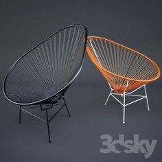 Download Acapulco Chair free 3D model for printing