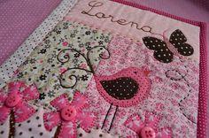 Porta carteirinha de vacinas Lorena   - charme de menina by Maria Sica, via Flickr