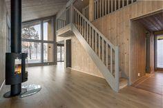 Turufjell/Flå- Ny innovativ hytte med høy standard og praktiske løsninger. Carport. Ski inn/ut. Under to timer fra Oslo   FINN.no Stairs, Design, Home Decor, Modern, Stairway, Decoration Home, Room Decor, Staircases