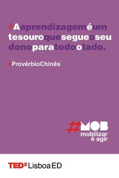 Há coisas que nos acompanham toda a vida, a nossa educação é uma delas.  www.tedxlisboa.com  #tedxlisboa #tedxlisboaed #mob