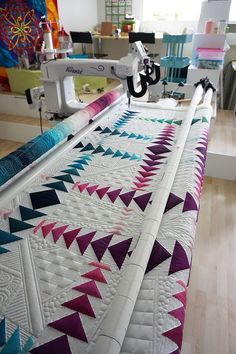 Quilting with Iva from Switzerland
