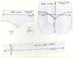 Eu Amo Artesanato: Bolsinhas de bichinhos com moldes