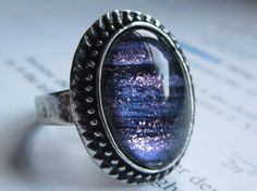 Isotope  Silver Ring  science jewelry  by DarkMatterJewelry, $12.00