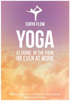 Yoga Flyer Design  Pesquisa Google  Yoga    Flyers