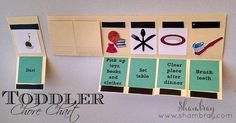 toddler, pictures, chores, simple, budget friendly