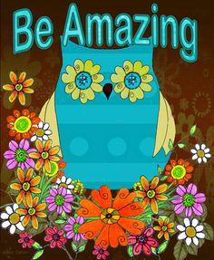 Be Amazing Owl