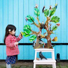 Totem bird tree by Kidsonroof. Solo en tienda fisica. 34.90€. Castillos en el Aire