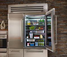 SubZero Wolf appliances. Need multiple or very large fridge.