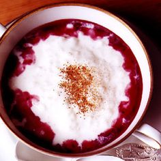 Rice Pudding: Lighter than most rice puddings, and not as sweet, this Swedish specialty is eaten both as a dessert and as a breakfast food. Short-grain rice, such as arborio, is essential for creating a deliciously creamy consistency. [click for recipe]