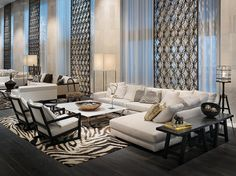 W South Beach—Living Room by W Worldwide, via Flickr ... Inspiration for a living room setup