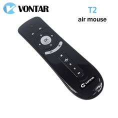 [Genuine]VONTAR Gyroscope Mini Fly Air Mouse T2 2.4G Wireless Keyboard Android remote control 3D Sense Motion Stick For Smart TV #Affiliate