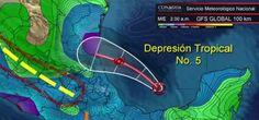 El Servicio Meteorológico Nacional (SMN) anunció que la tormenta tropical Dolly podría tocar la zona costera mexicana durante la madrugada de este miércoles, poco más de un día después de originarse en el Océano Atlántico.