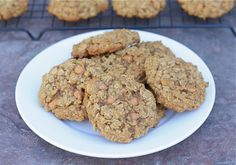 Pumpkin Oatmeal Scotchies | Make and Takes