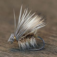 Peacock and Elk Hair Caddis - Fly Fish Food -- Fly Tying and Fly Fishing