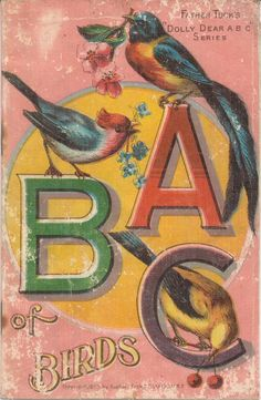 """VINTAGE """"A B C"""" BOOK FROM Father Tuck's """"DOLLY DEAR A B C """" Series."""