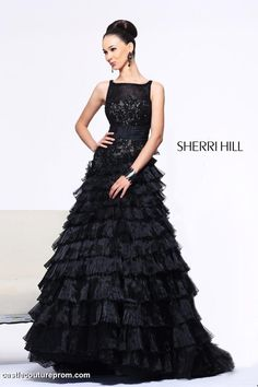 Sherri Hill Prom Gowns and Dresses for 2016 Sherri Hill 2985 Sherri Hill