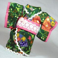 Green Japanese Kimono for Lati Yellow