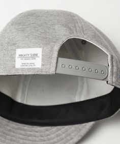 Mighty Shine(マイティーシャイン)のmko5079-BRIDGE CAP SWEAT キャップ(キャップ)|詳細画像