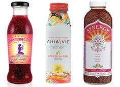 Drinks made with chia seeds super healthy! I've tried the Synergy one and its delish!